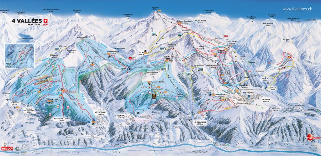 plan 4 vallees